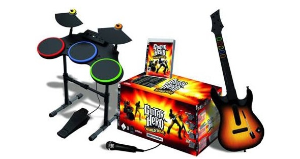 Win Xbox 360 And Guitar Hero World Tour!