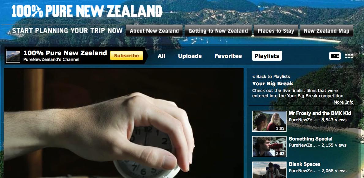 New Zealand YouTube