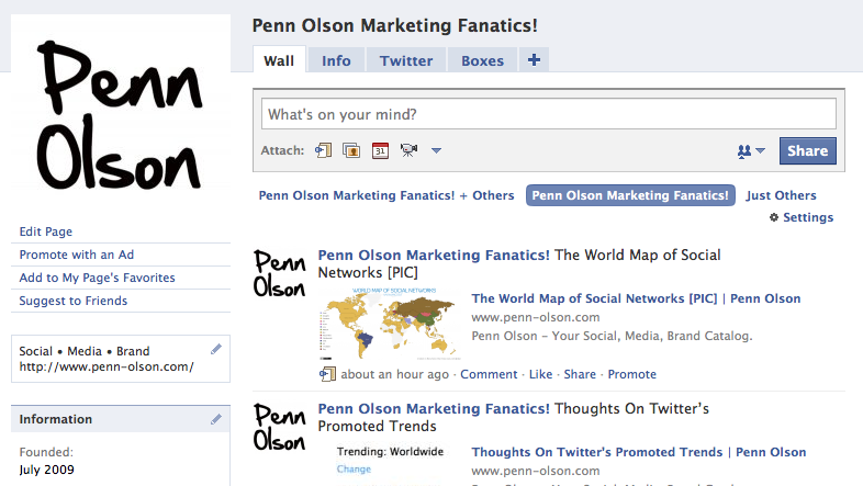 Penn Olson Facebook