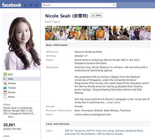 Nicole Scherzinger Facebook Profile Cover #14723