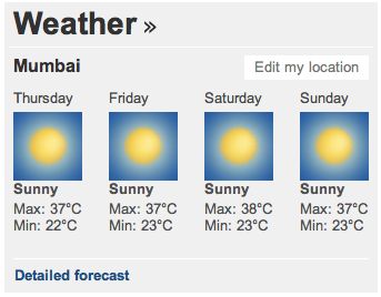 BBC India (Weather)