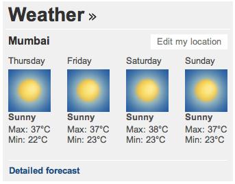BBC India (Weather)