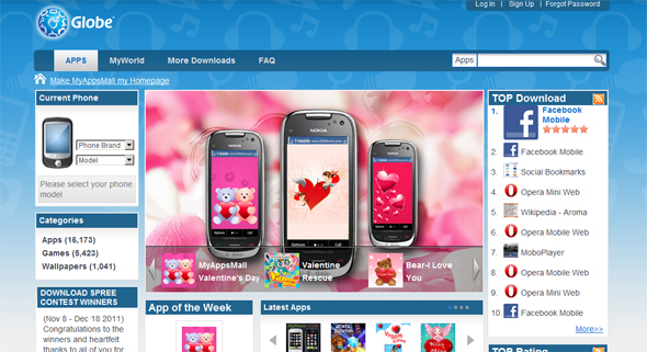 SingTel and Globe launches new cross-platform mobile app store in