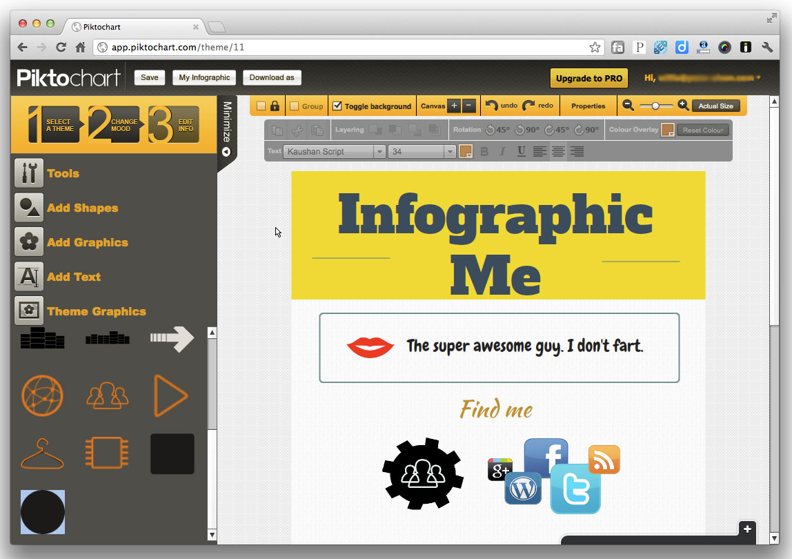 Grab Data and Build Your Infographic in Minutes Using Piktochart