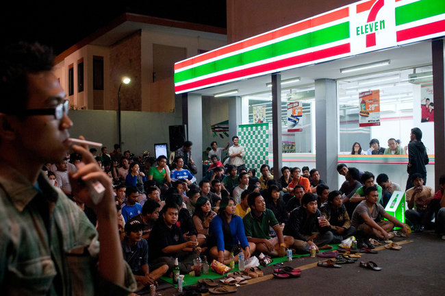 7-eleven in indonesia