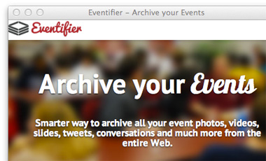 eventifier-homepage