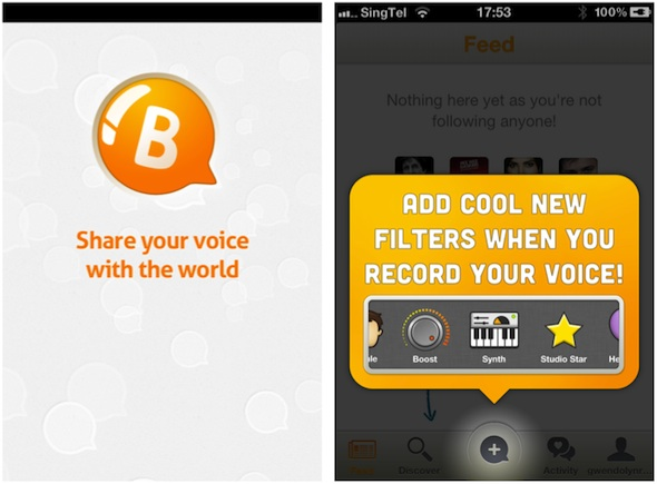 Bubbly wants to be Instagram of voice, updated with sound