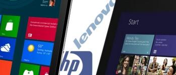 HP Lenovo PC sales, 2013
