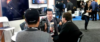 minh le being interviewed