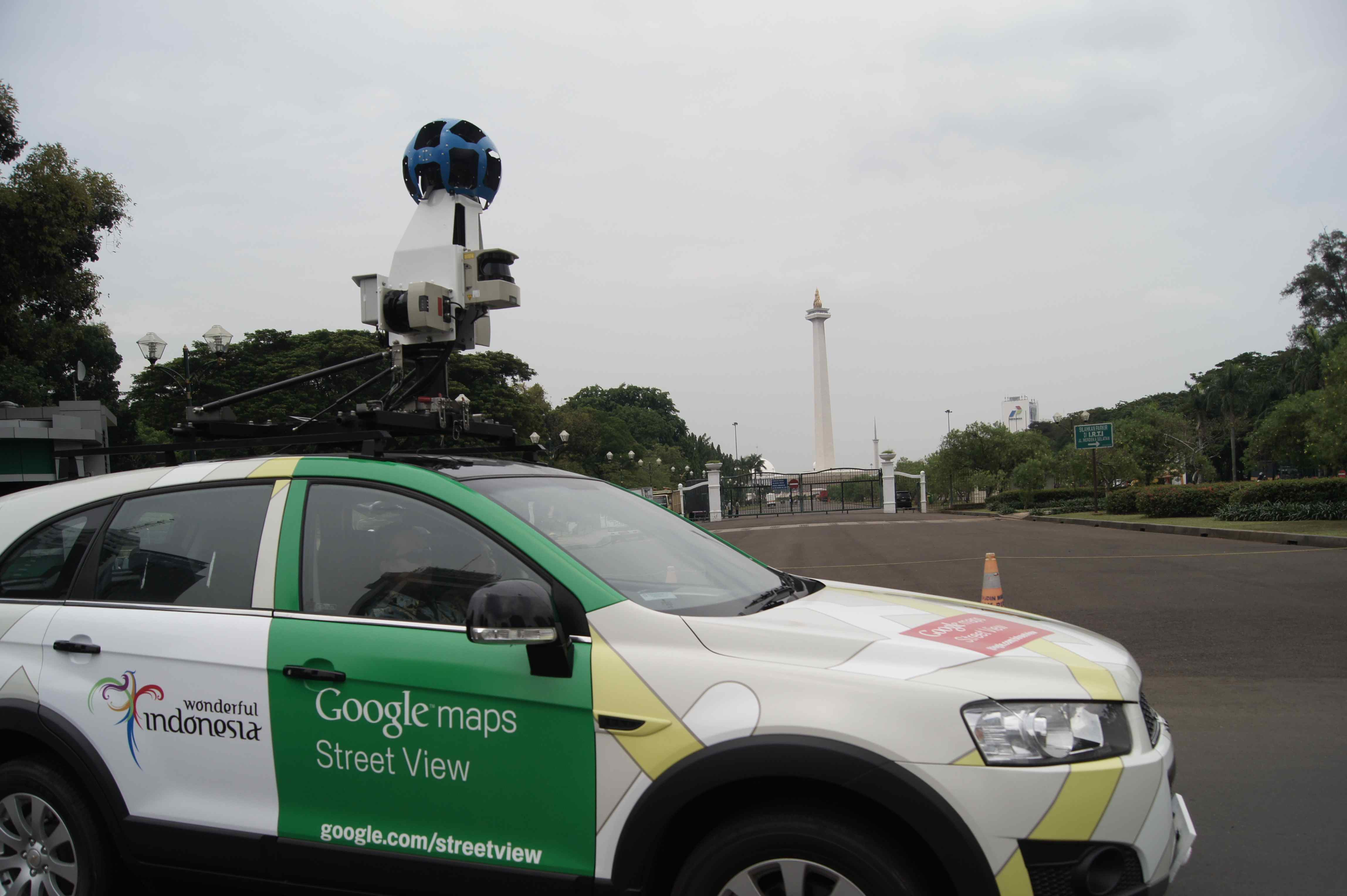 Google's StreetView Coming to Indonesia As Camera Cars Hit ... on google earth camera car, google street view car, maps car with camera,
