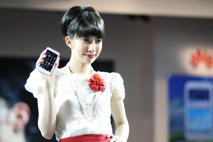 CEATEC Japan, Huawei smartphone