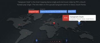 Google Zeitgeist map