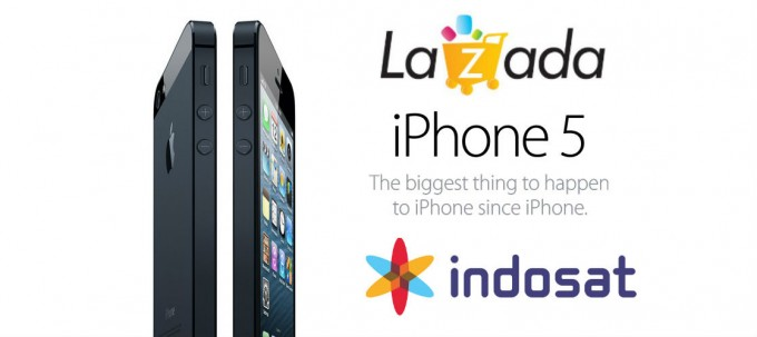 Lazada and Indosat Offer Free iPhone 5 [CONTEST]