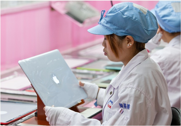 Apple China supplier report 2013