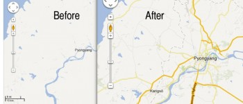 Google Maps adds North Korea details