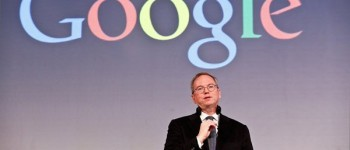 Google's Eric Schmidt in China