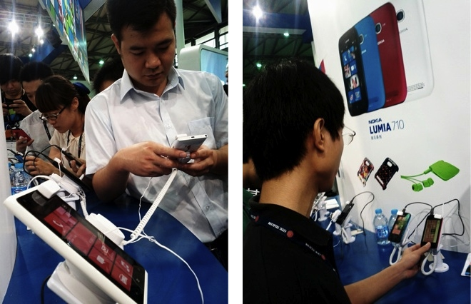 Nokia China sales numbers 2012