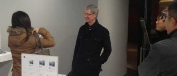 Tim Cook in Beijing, January 2013