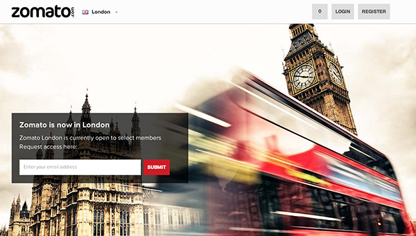 Indias online restaurant guide zomato expands to london if youd like to try out the new zomato london section you can head over to zomatolondon right now access is by invitation only but if you request stopboris Image collections