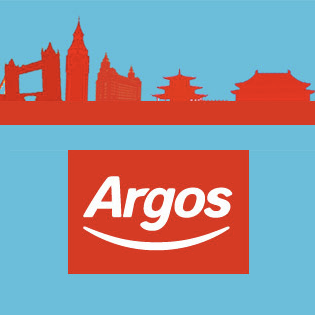 Argos ecommerce store for China