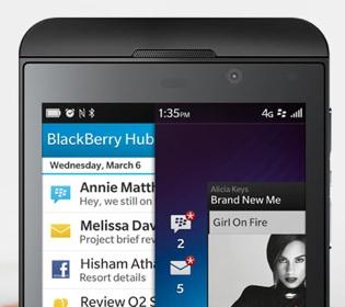 BlackBerry Z10 India launch