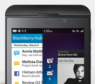 BlackBerry Z10 Singapore launch