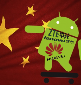 Canalys, Chinese smartphone brands