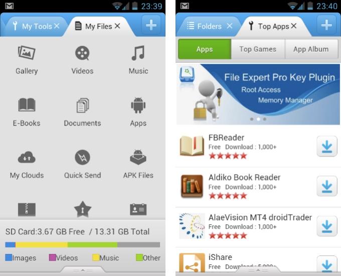 File Expert app