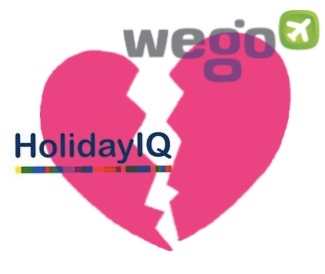 HolidayIQ and Wego de-merge