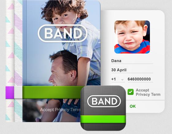 Line Band app