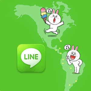Line spin-off as Line Corp