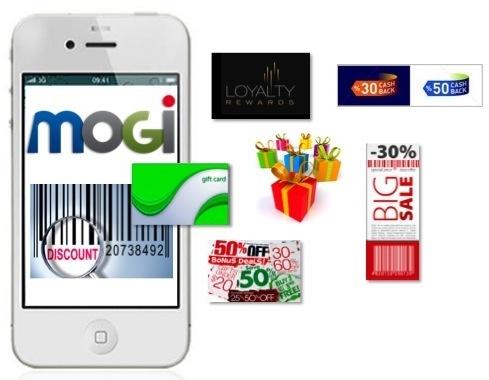 MOGi mobile wallet app