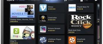 Opera and MediaTek smart TV app store
