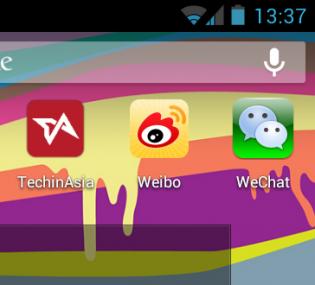 Weibo vs WeChat 2013
