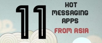 asia messaging apps 2013