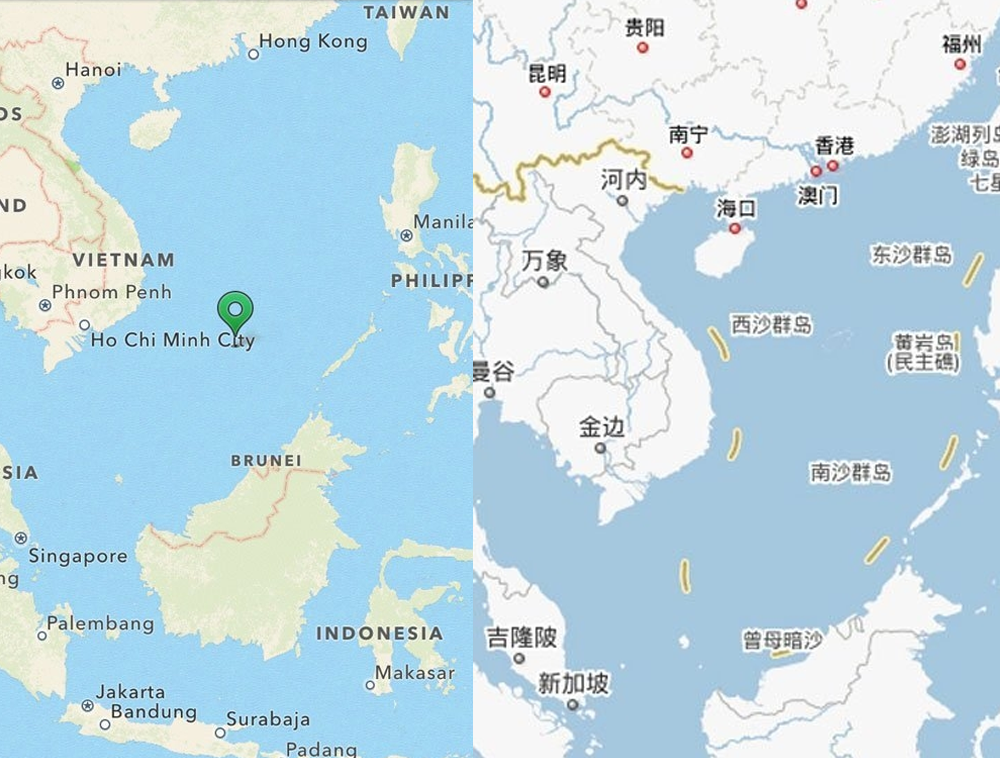 WeChat Offends Vietnamese Users with 'Cow Tongue' Chinese Maps