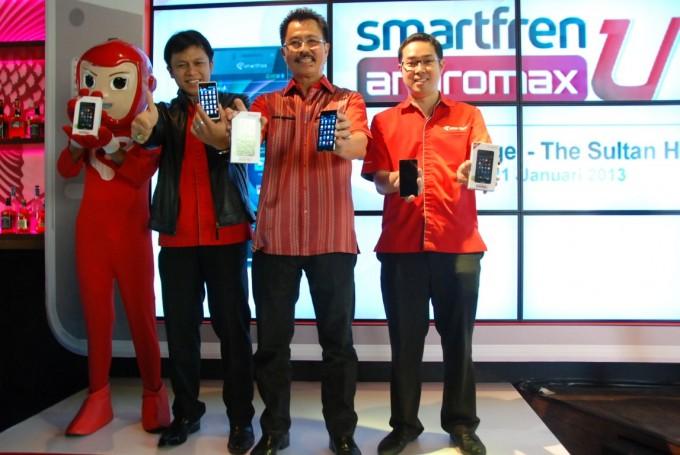 smartfren andromax u launch