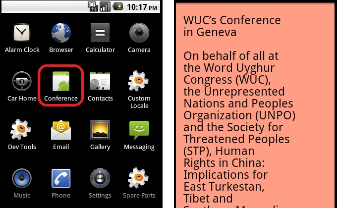 Android spyware from China targets human rights