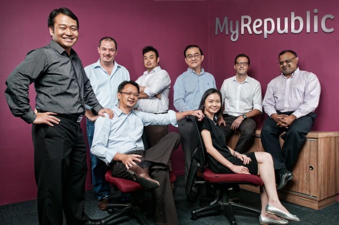 Management team of MyRepublic
