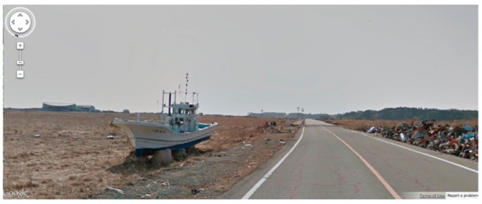 Google Street View in Fukushima nuclear exclusion zone
