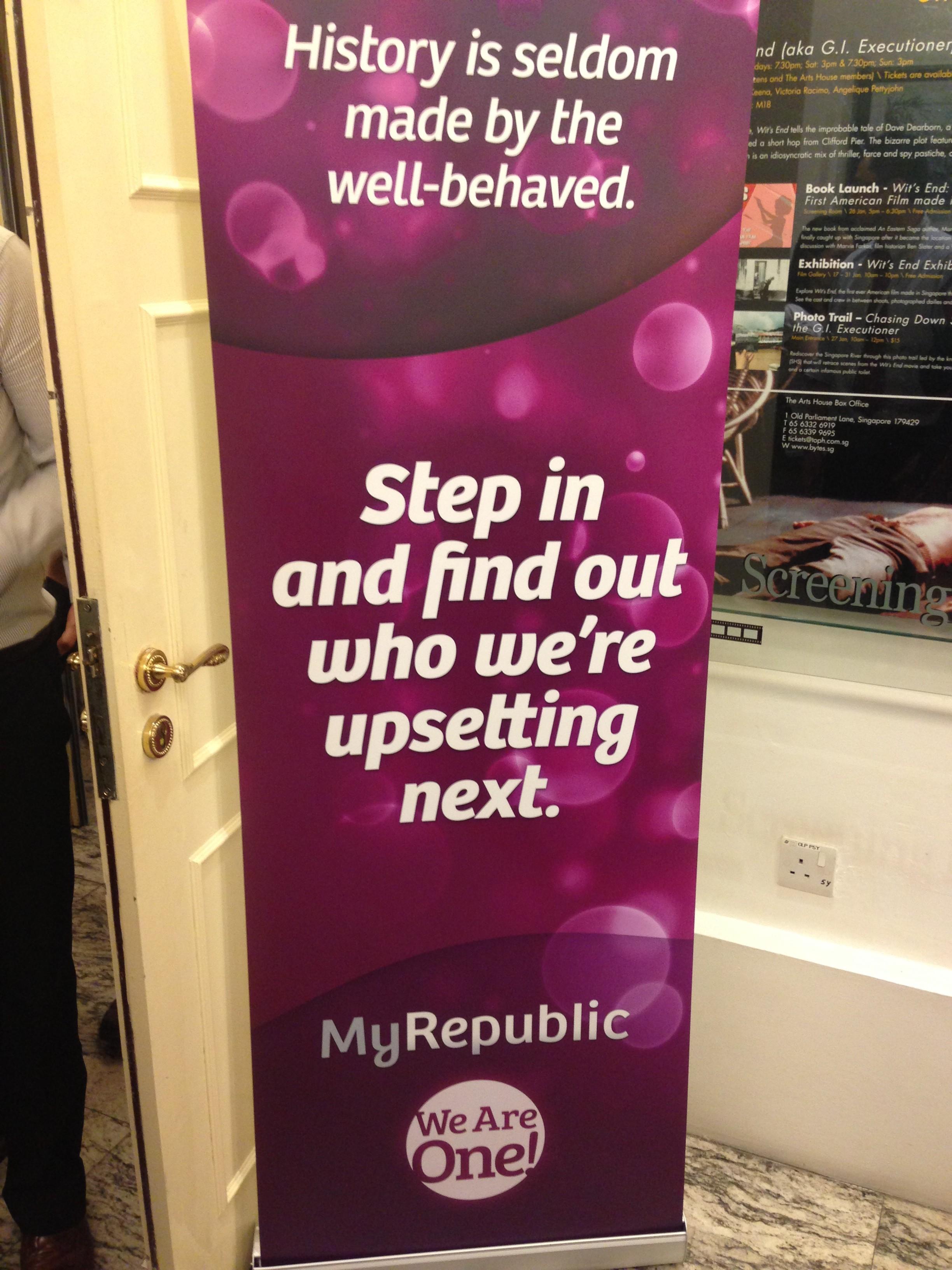 MyRepublic Disrupts Singapore Telco Business, Launches