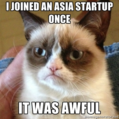 There is No Glamour in an Asia Startup