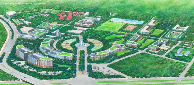 Quang Trung Software city, a software park sanctioned by the Vietnamese government.