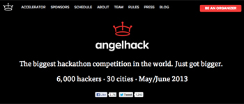 angelhack screenshot