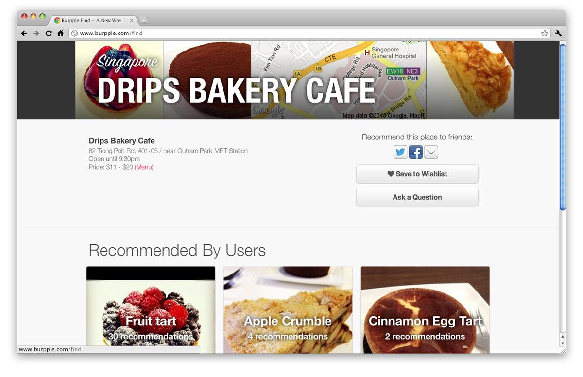 Burpple Find, Singapore restaurant reviews