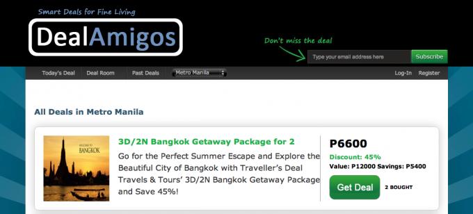 online deals websites manila