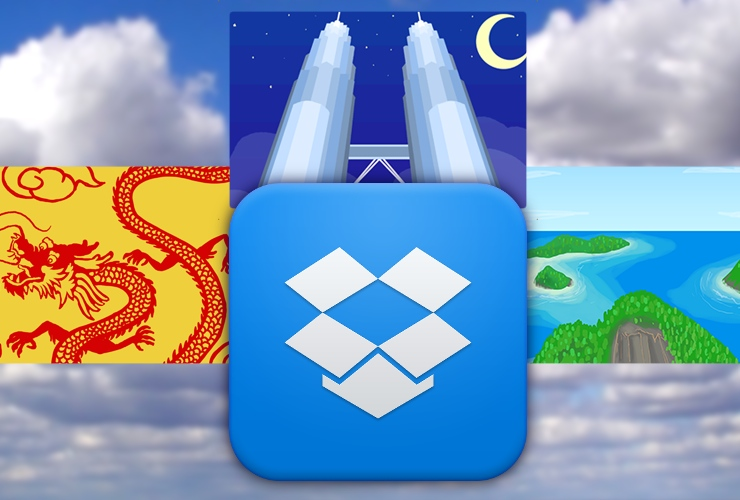 Dropbox Chinese Malaysian Indonesian