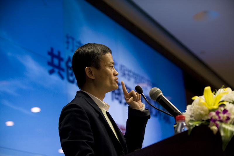 Jack Ma, Chairman of Alibaba, talks piracy in China