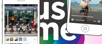 Just.me app launch