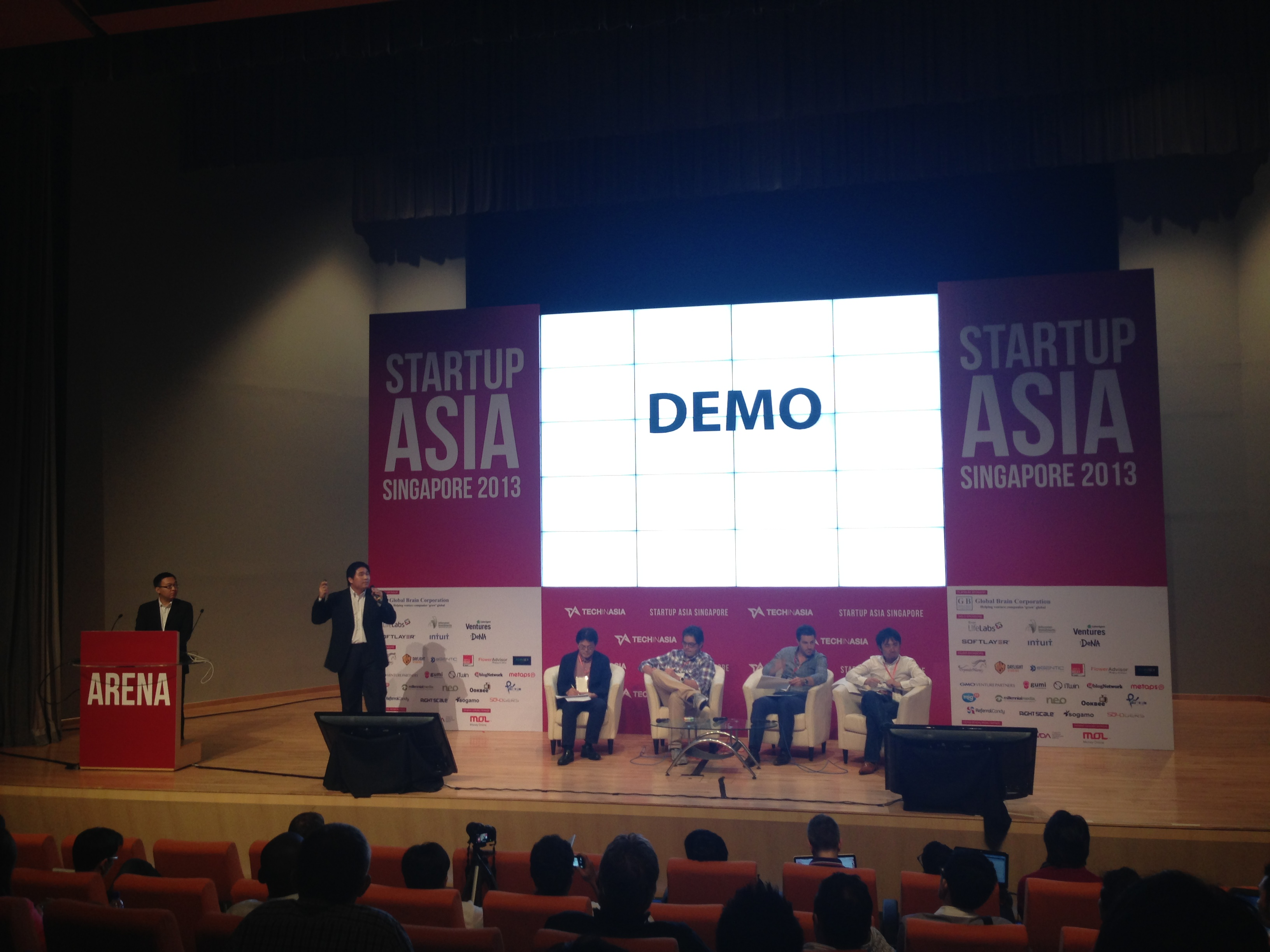 startup arena singapore 2013 - Tech in Asia